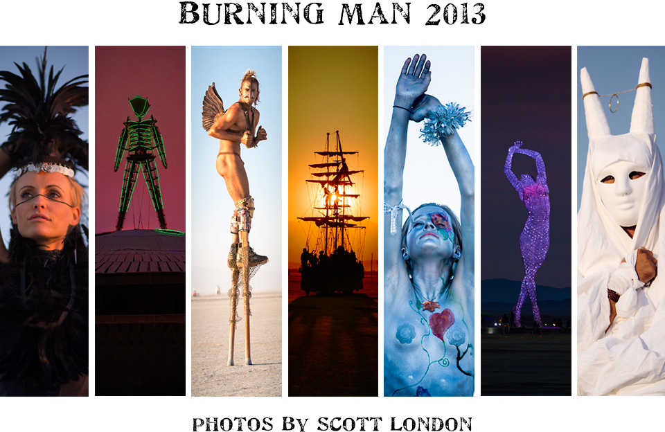 Beautiful photos from Burning Man 2013 by photographer Scott London
