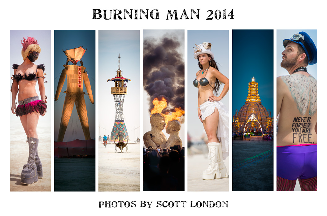 Burning Man 2014 photos by Scott London