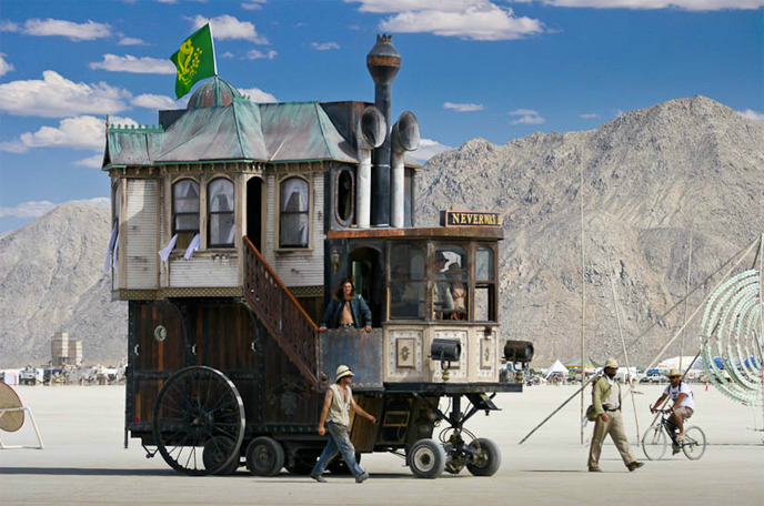 Neverwas Haul - A Photo from Burning Man by Scott London