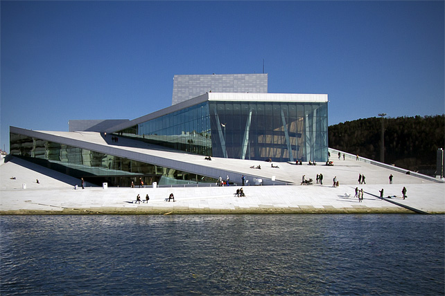 Oslo Opera House - Partnership for Change 2012 (Photo by Scott London)