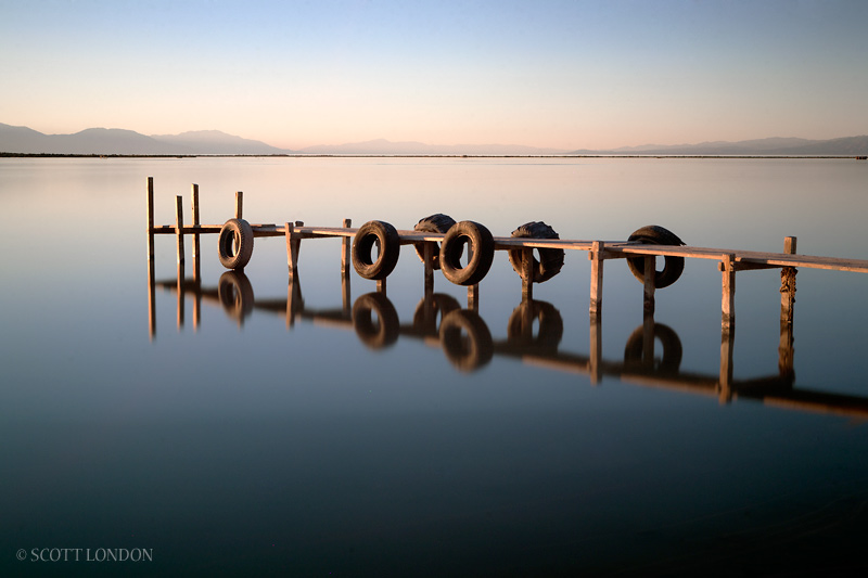 Salton Sea Dock - Photo by Scott London