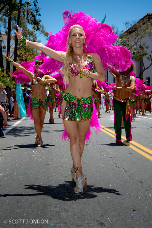 Hip Brazil at the 2012 Summer Solstice Parade - A Photo by Scott London