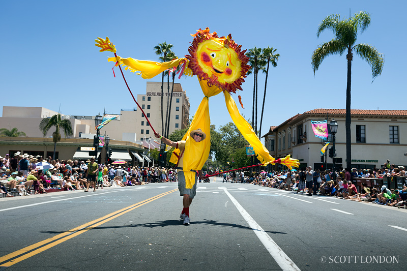 Santa Barbara Solstice Parade 2013: A Photo by Scott London