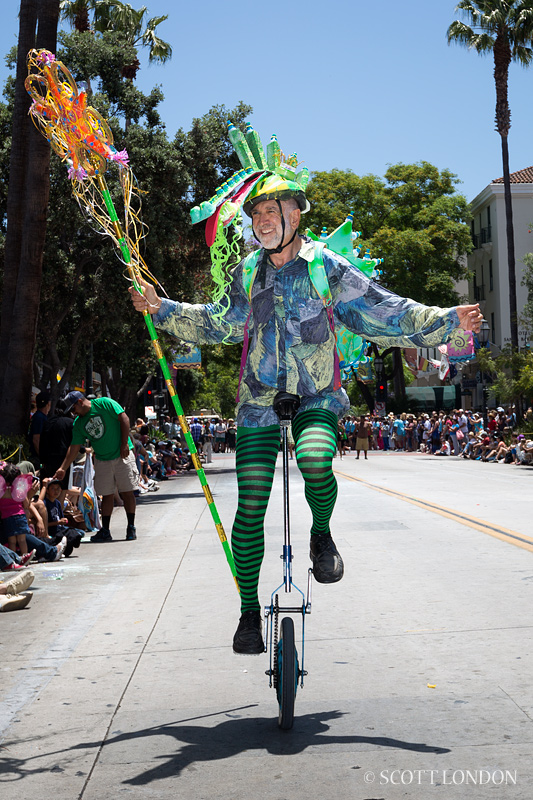 Robert Bernstein at the 2013 Solstice Parade: A Photo by Scott London