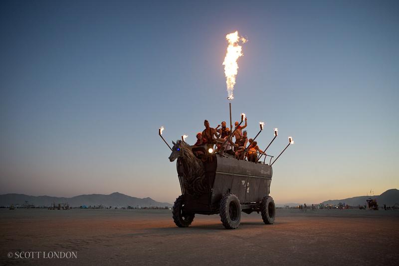 Viking Mutant Vehicle. Photo by Scott London.
