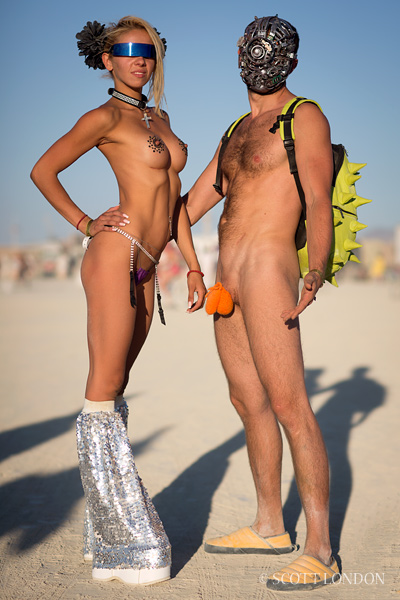 Burning man pictures women naked — 5