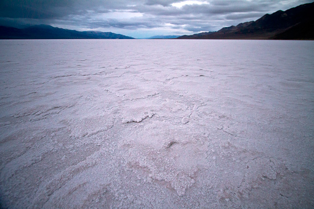 Badwater Under Stormy Skies