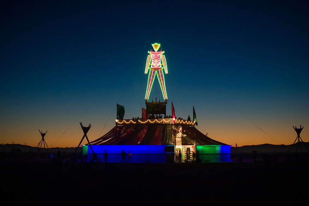 Burning Man by Scott London