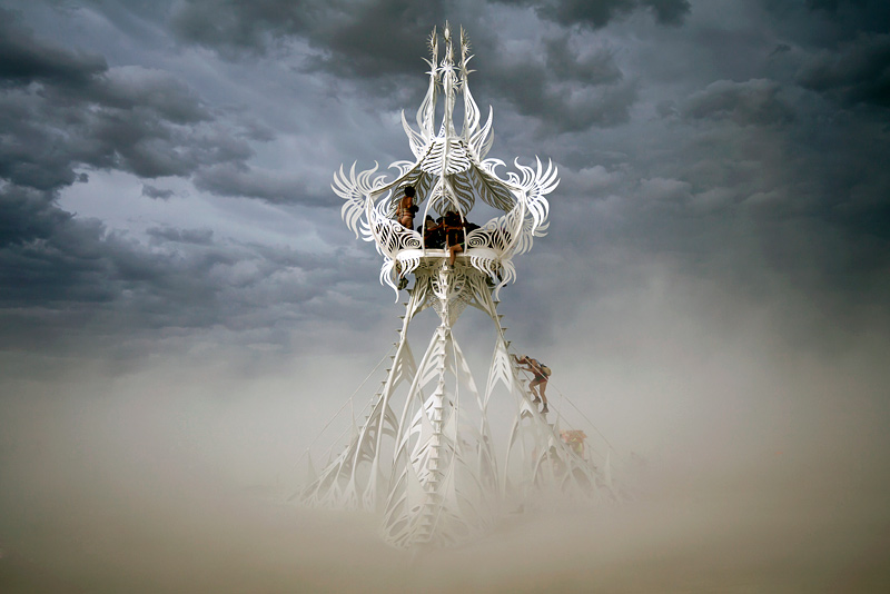 """Star Seed"" - A photo from Burning Man by Scott London"