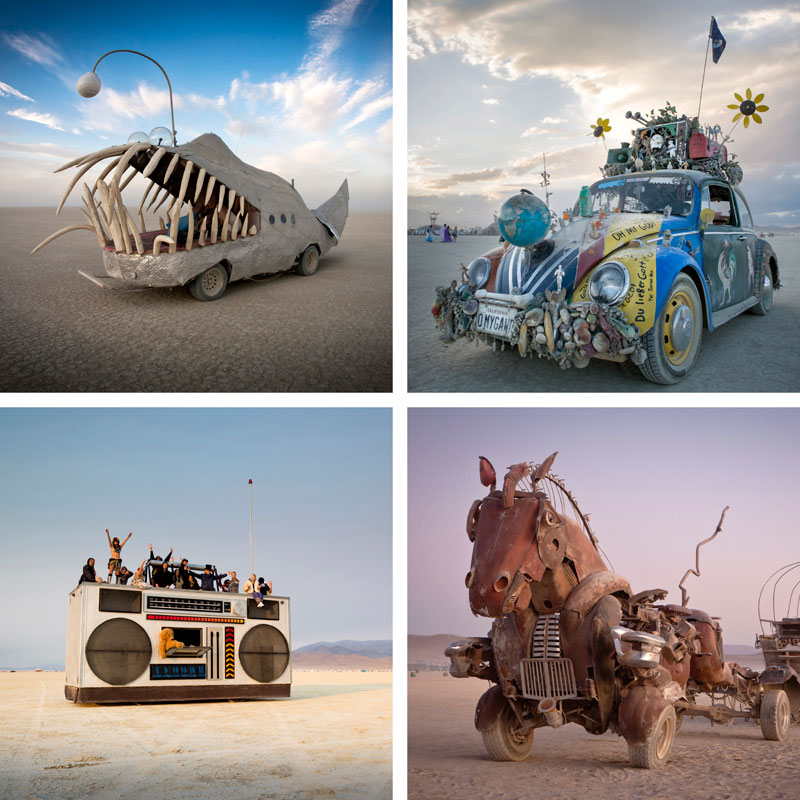 Burning Man Art Cars - Photos by Scott London