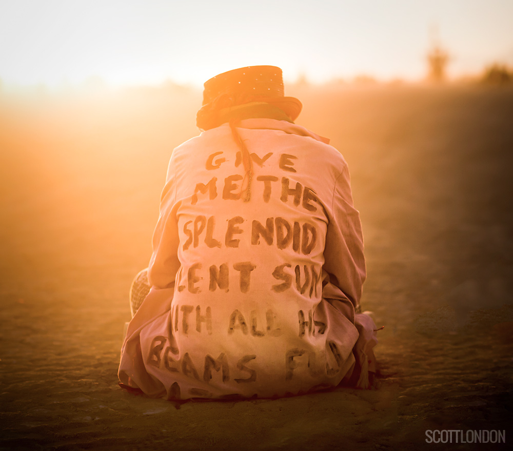 Give me the splendid silent sun