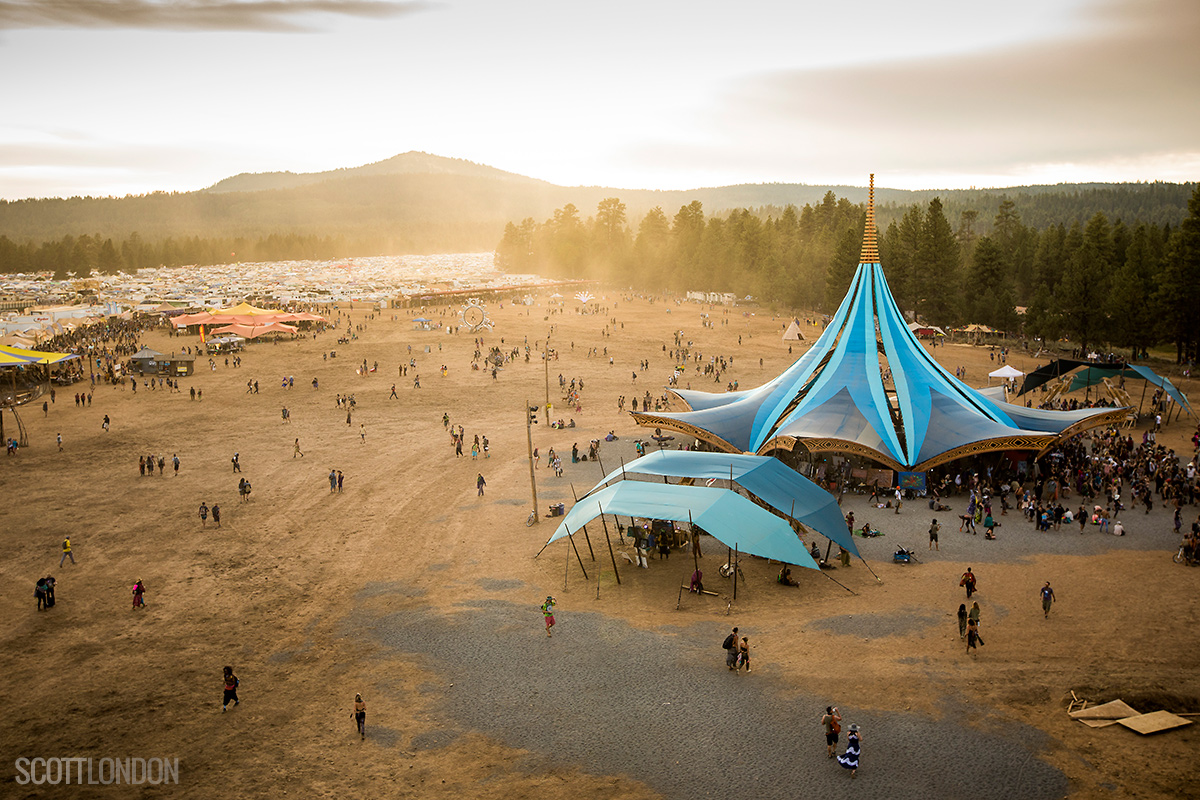 Oregon Eclipse Gathering - Photo by Scott London